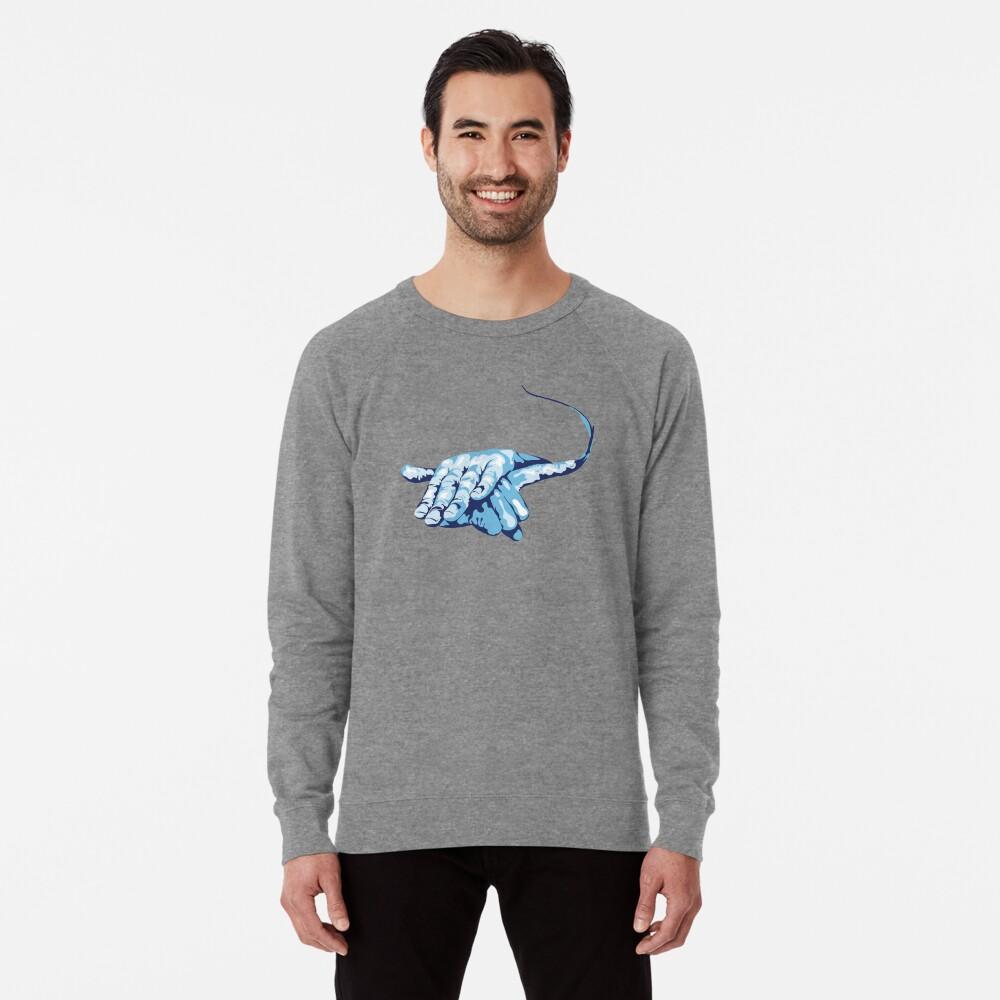 Stingray Hand Signal Lightweight Sweatshirt