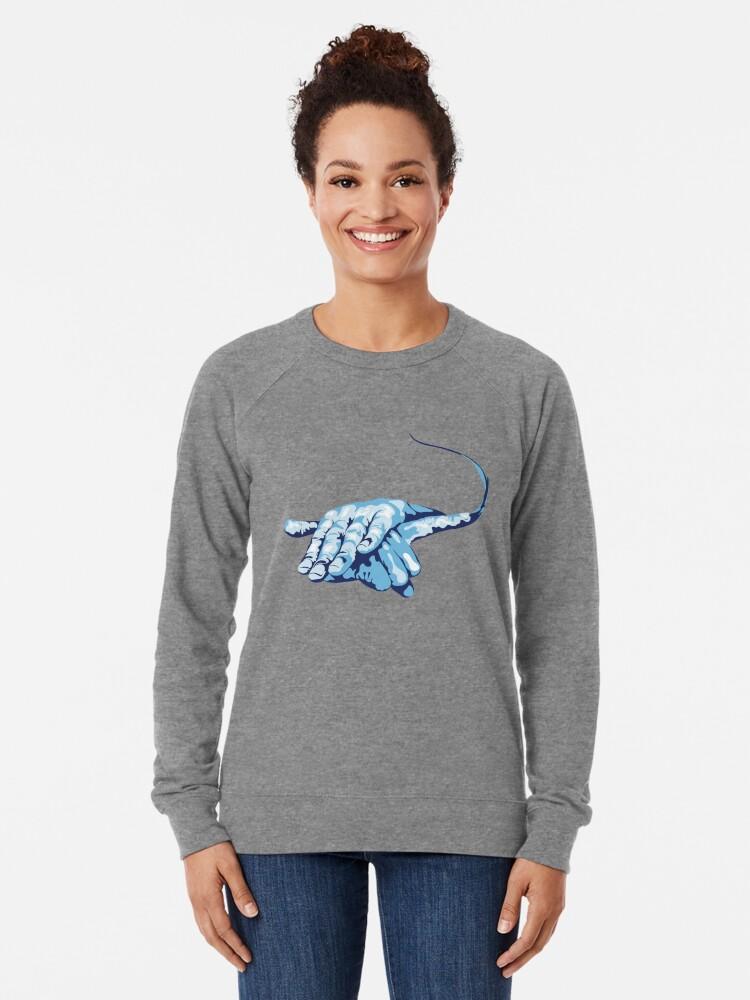 Alternate view of Stingray Hand Signal Lightweight Sweatshirt