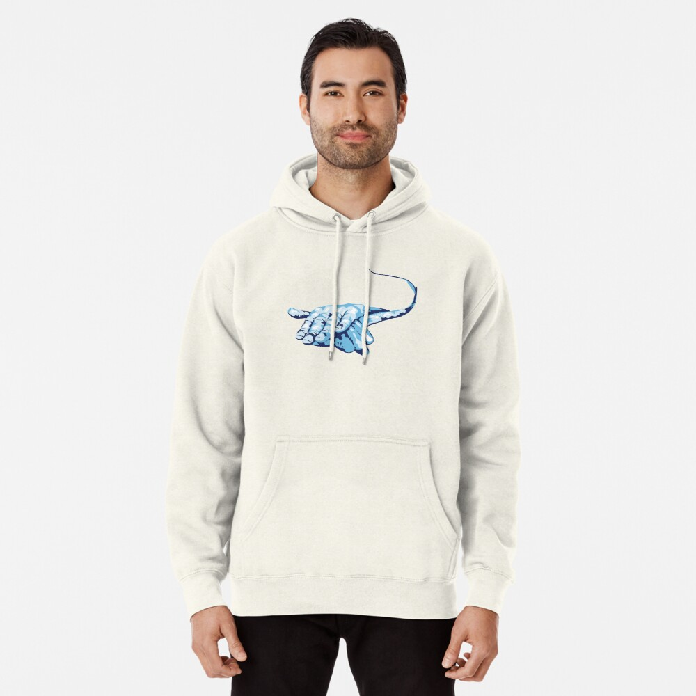Stingray Hand Signal Pullover Hoodie
