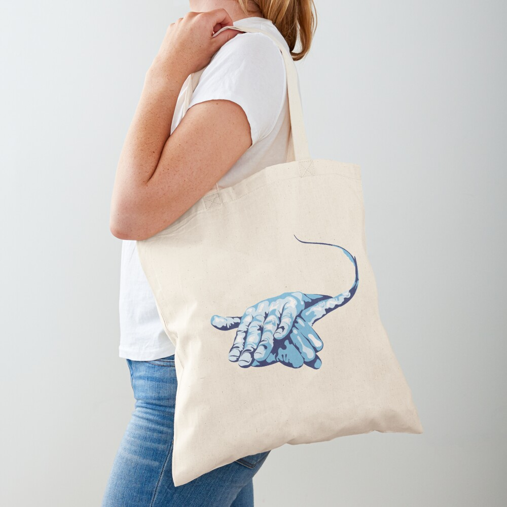 Stingray Hand Signal Tote Bag