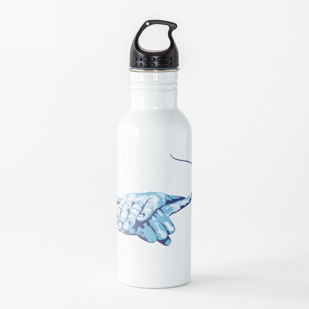 Stingray Hand Signal Water Bottle