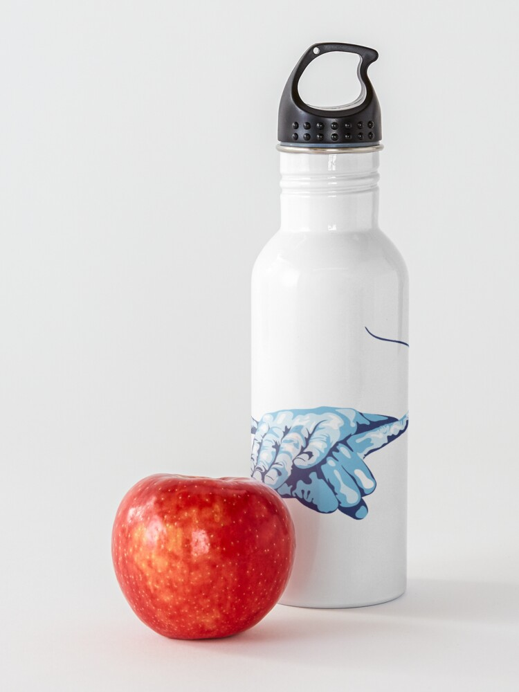 Alternate view of Stingray Hand Signal Water Bottle