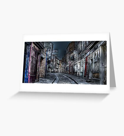 Night in the Shambles York Greeting Card