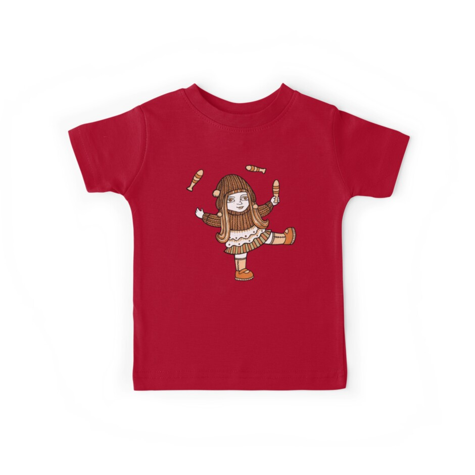 Fern's Fun at the Fringe (Tee) by Anita Inverarity