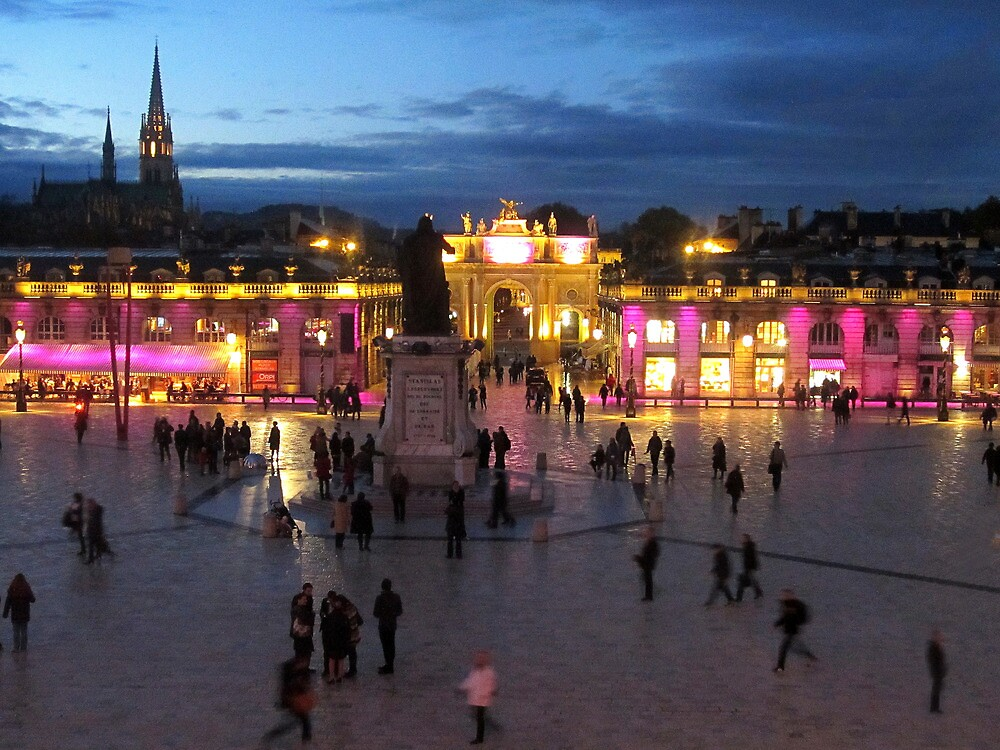 Place Stanislas Nancy France. by Paul Pasco