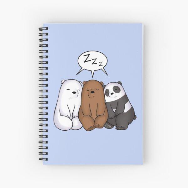 Osos dormidos Cuaderno de espiral