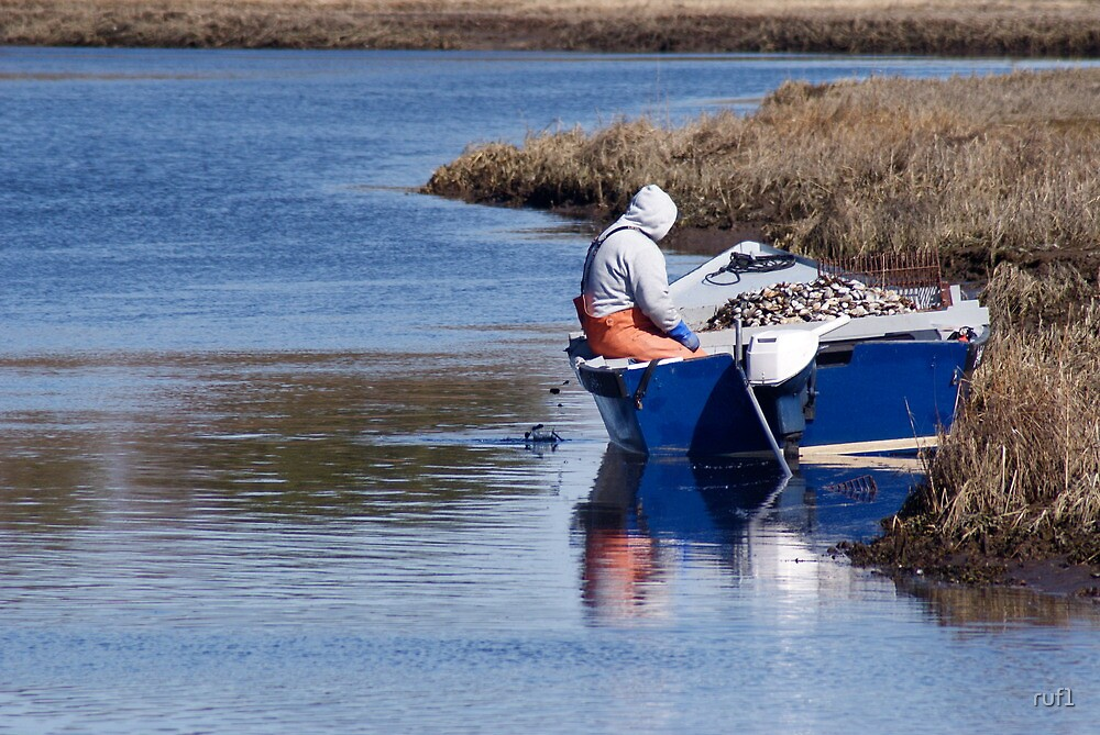 Cape Cod Shellfisherman by Russell L. Frayre / Photographer