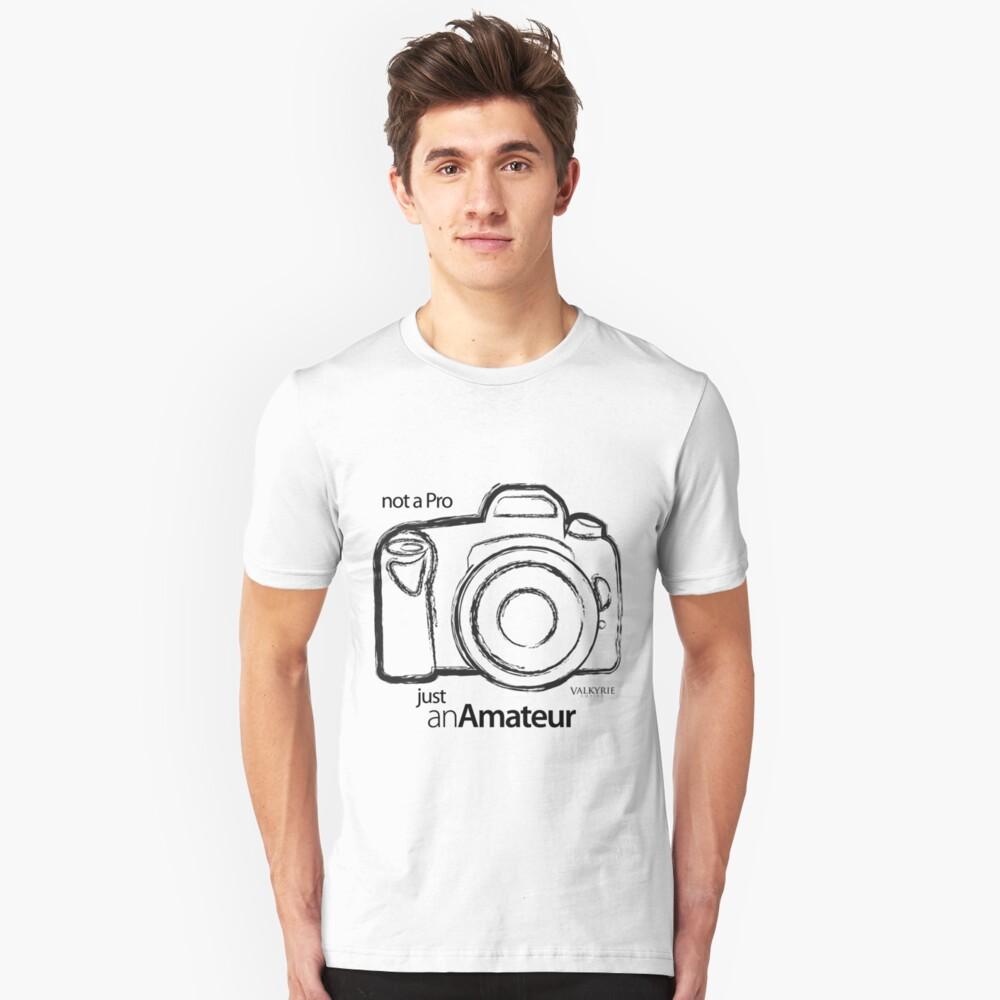 Amateur Photographer Unisex T-Shirt Front