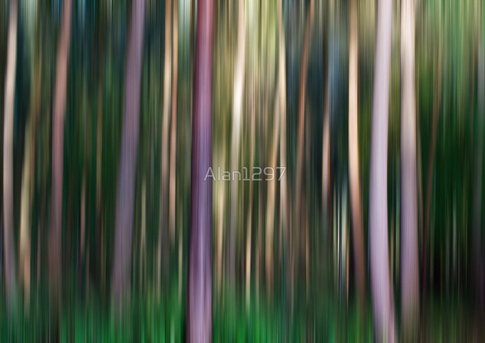 Trees in Motion by Alan1297