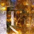 Burning Candle Abstract by pjwuebker