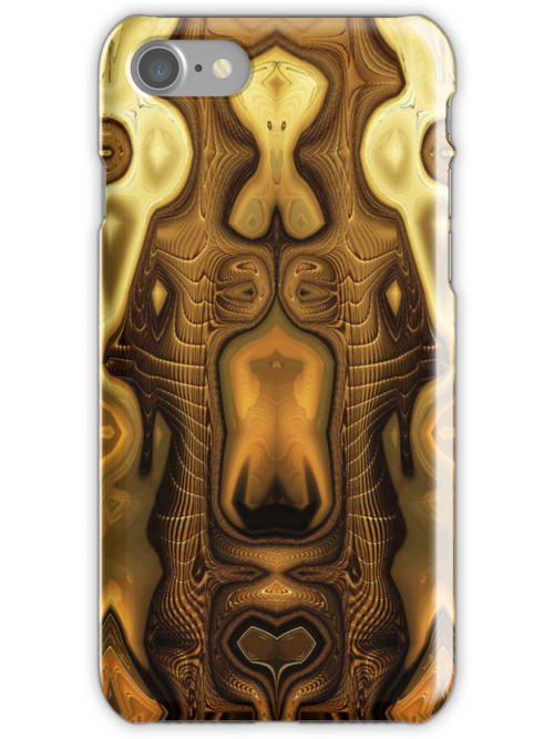 Golden .. iphone case by LoneAngel