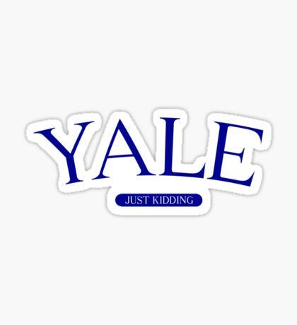 YALE Sticker