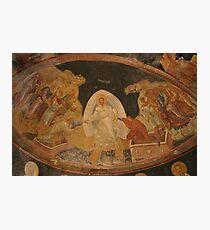 The Anastasis fresco in Chora Church Turkey Photographic Print