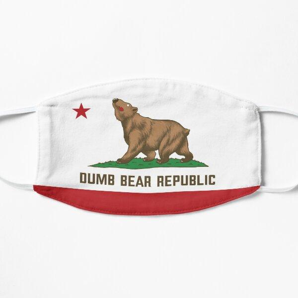Dumb Bear Republic Flag Small Mask