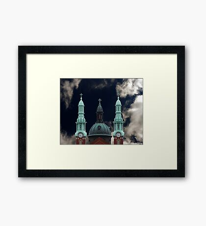Mother of God Church Ky Framed Print