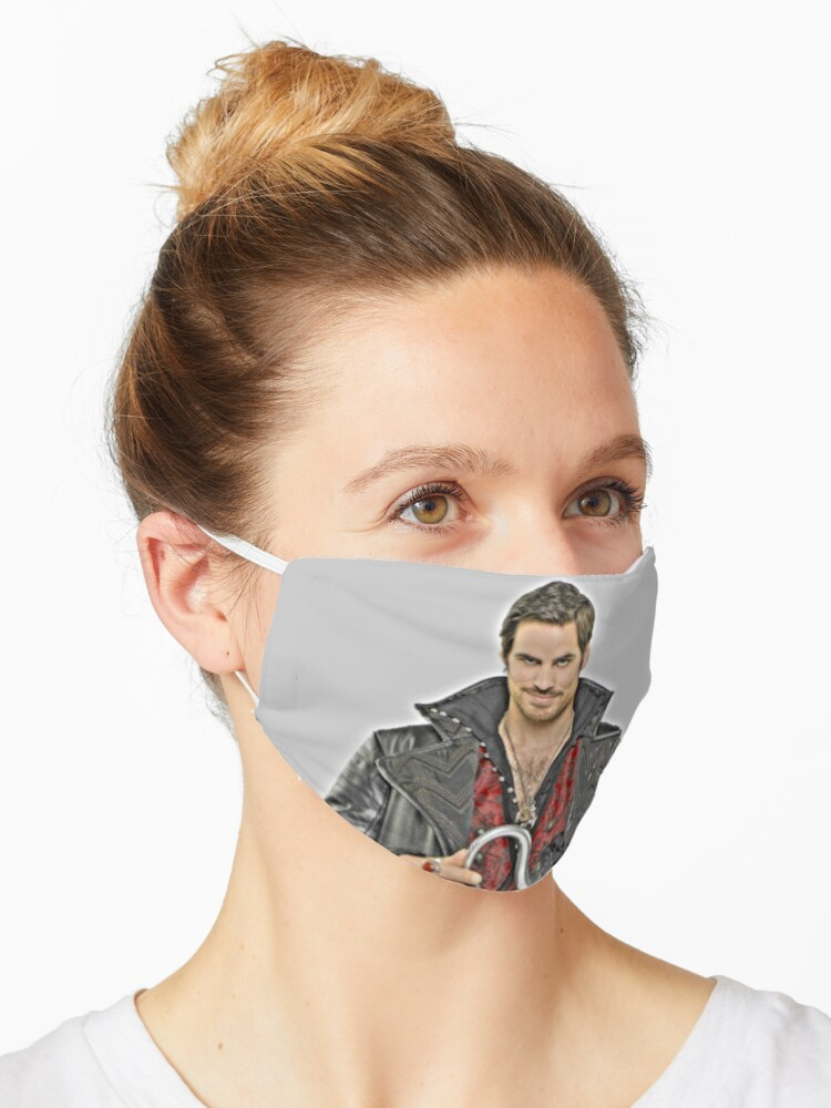 Captain Hook Killian Jones Mask By Swanspirate520 Redbubble I'm taken by @hisredwolf 18 + mature content . redbubble
