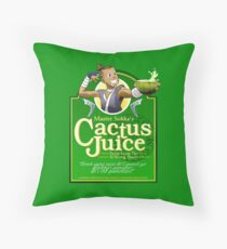 Master Sokka's Cactus Juice Throw Pillow