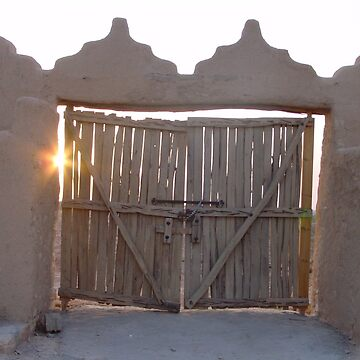 Saudi Gate by vulcanluver