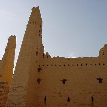 Saudi Castle by vulcanluver