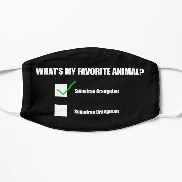 Sumatran Orangutan  - My Favorite Animal Mask