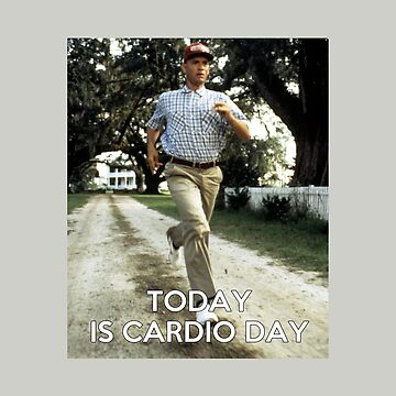 Today is cardio day Forrest Gump runs by OuroborosEnt