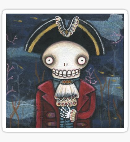 Davy Jones Sticker