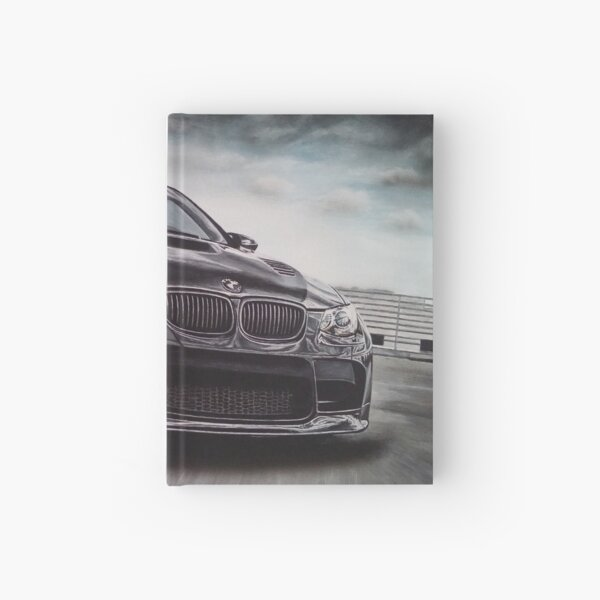 Sport Car Hardcover Journal