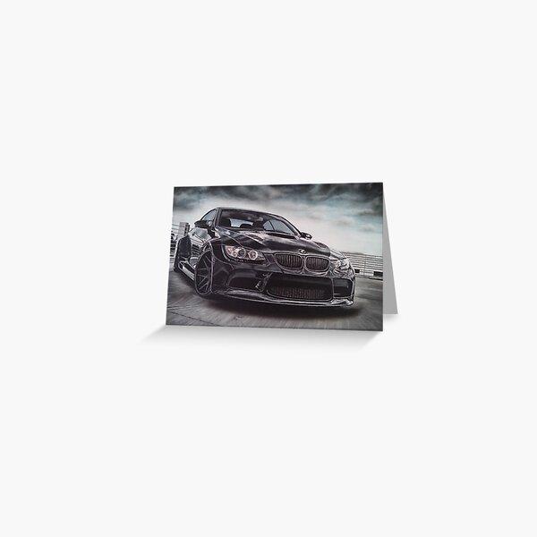 Sport Car Greeting Card
