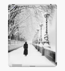 Figures in the Snow  iPad Case/Skin