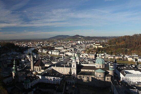 Salzburg Austria by Socrates & Angela Hernandez