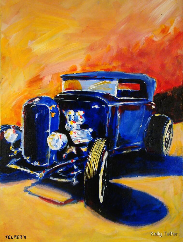 '32 Ford Flathead' Street Rod by Kelly Telfer
