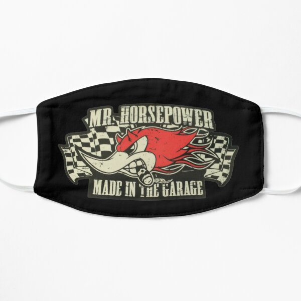 Mr. Horsepower - Made in the Garage V8 Hot Rod Mask