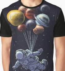 Space Travel Graphic T-Shirt