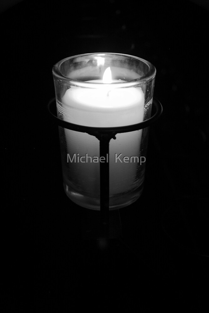 Candle by Michael  Kemp
