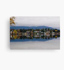 Mirror Lake (New York) Canvas Print