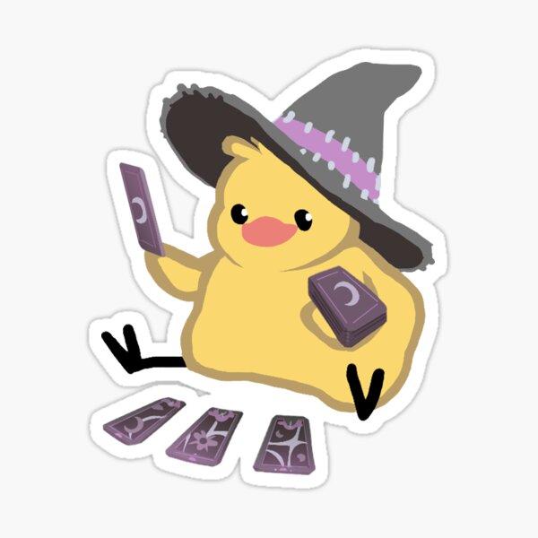 Magical Tarot Witch Birdblob Sticker