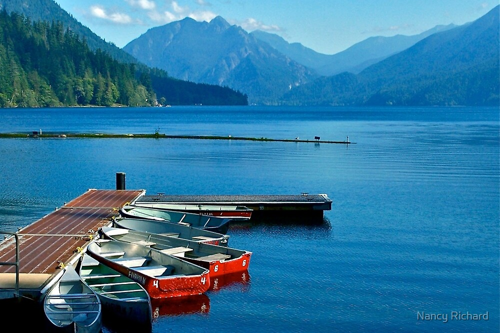 Lake pleasures by Nancy Richard