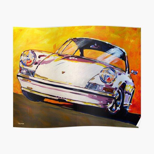 la Porsche 911 a subi un développement continu Poster