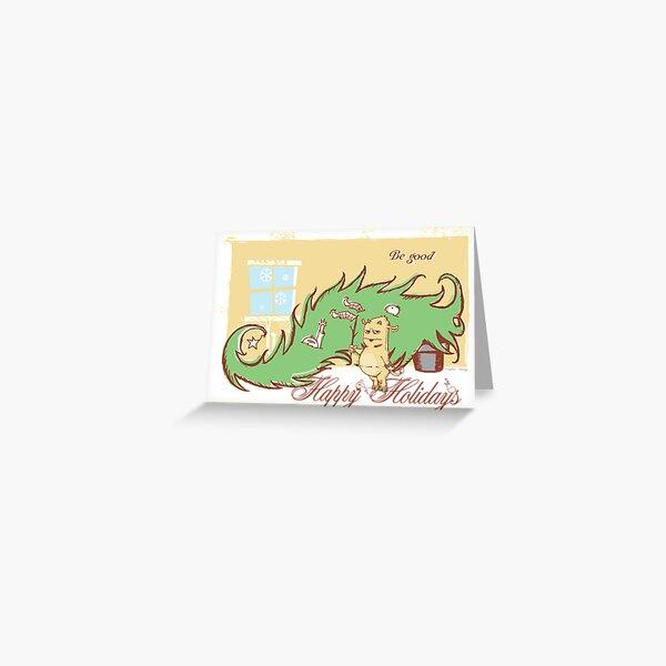 The Krampus Greeting Card