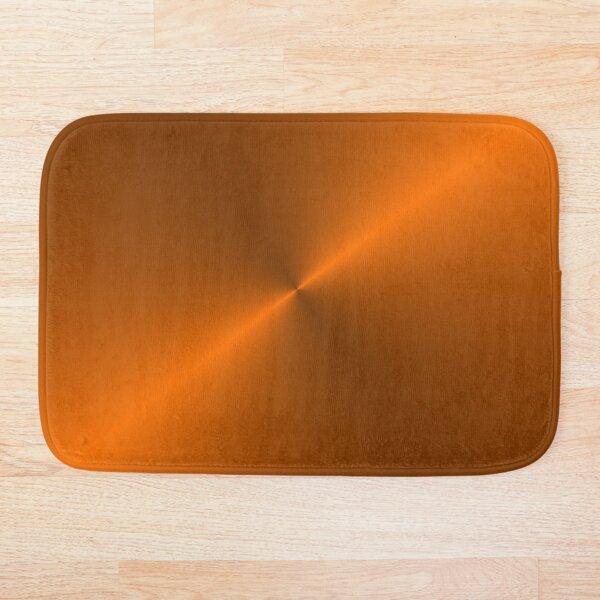 Brushed Copper Illustration Bath Mat