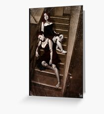 Doll Photography Series 001 Greeting Card