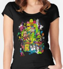 LSD Color Women's Fitted Scoop T-Shirt