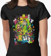 LSD Color Women's Fitted T-Shirt