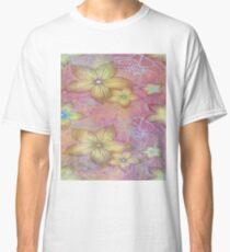 Soft textured florals Classic T-Shirt