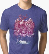 Dreaming Bear  Tri-blend T-Shirt