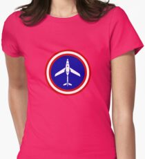 Hunter Killer Drone Women's Fitted T-Shirt