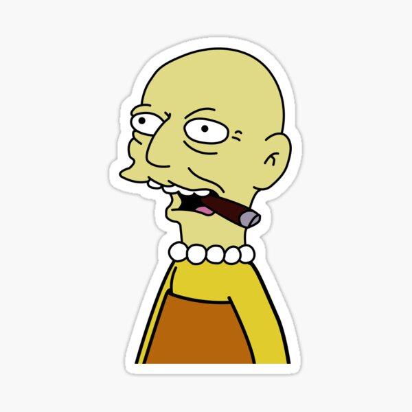 Lisa Simpson Estonian Dwarf Sticker