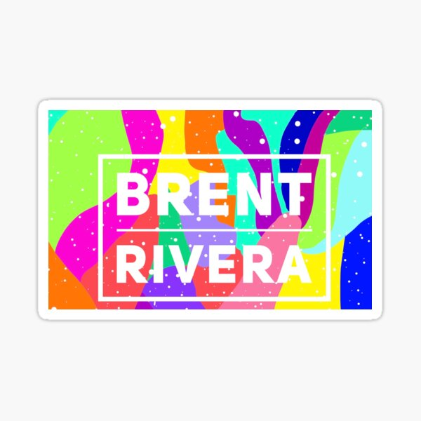 Brent Rivera ,redbubble boy Sticker