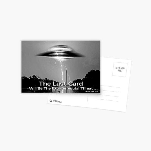 The Last Card Postcard