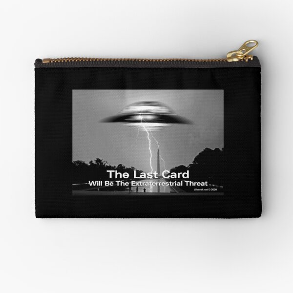 The Last Card Zipper Pouch